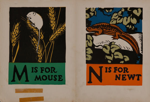 M is for Mouse - N is for Newt