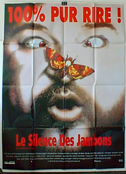 Silence of the Hams Original French Movie Poster