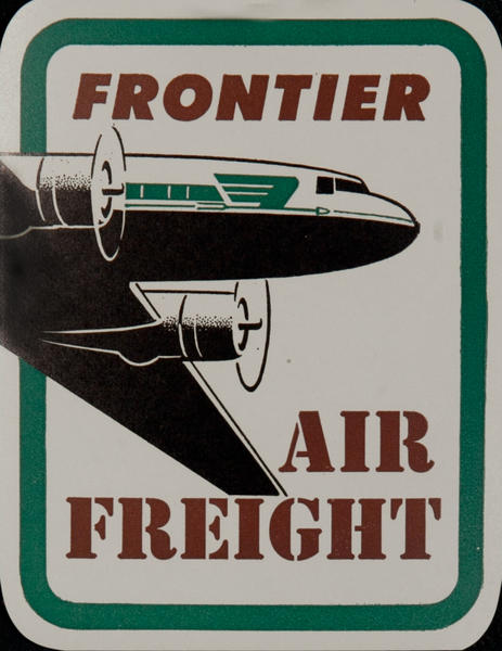 Frontier Air Freight Luggage Label