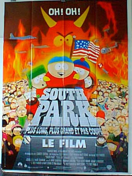 South Park Original French Movie Poster