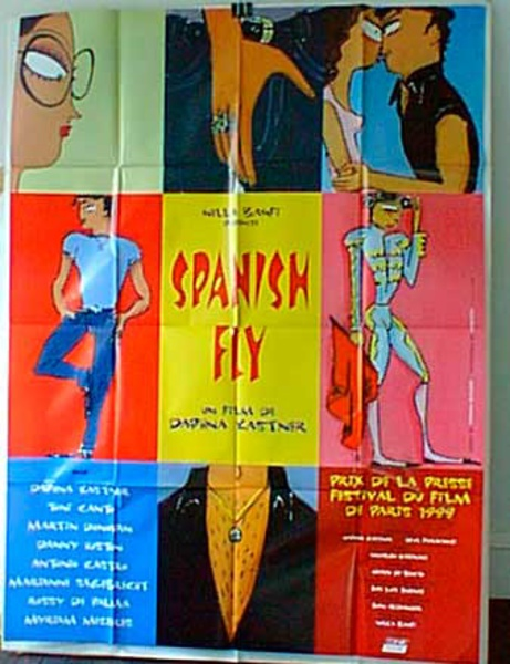 Spanish Fly Original French Movie Poster