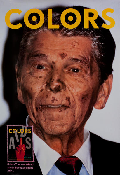 Benetton Colors - Ronald Reagan with AIDS