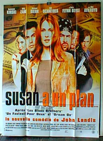 Susans Plan Original French Movie Poster