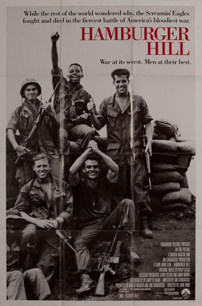 Hamburger Hill, 1 sheet movie poster