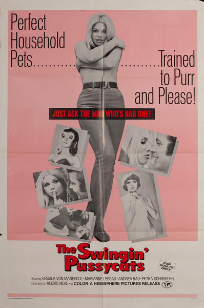 The Swingin Pussycats, 1 sheet movie poster