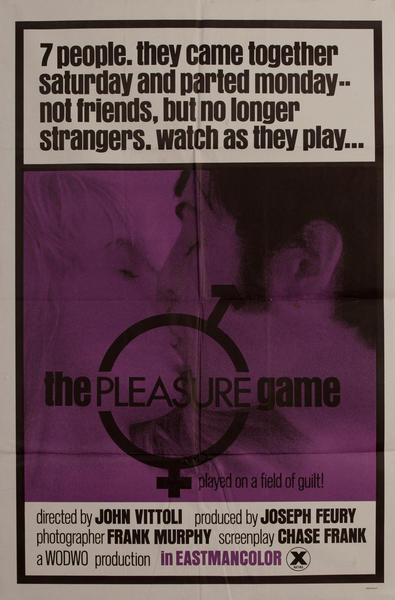 The Pleasure Game, 1 sheet movie poster