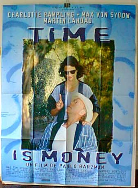 Time is Money Original French Movie Poster