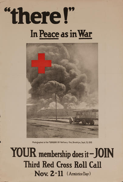 There In Peace as in War, Third Red Cross Roll Call Poster