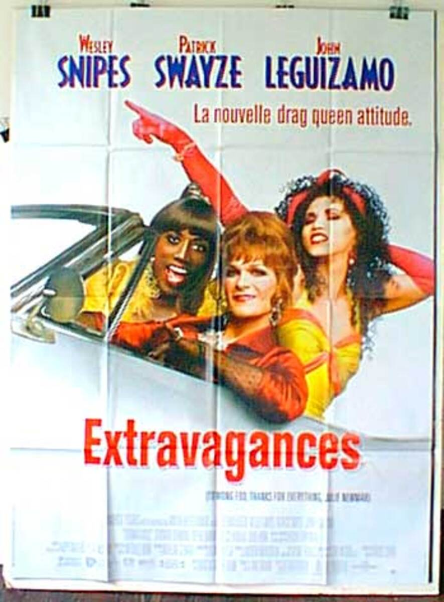 To Wong Foo, Thanks for Everything, Julie Newmar Original French Movie Poster