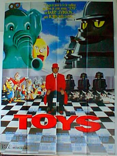 Toys Original French Movie Poster