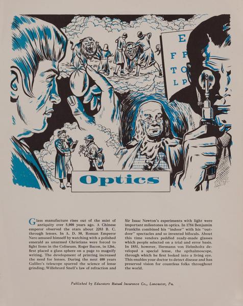 Optics, Mutual Insurance Health Poster
