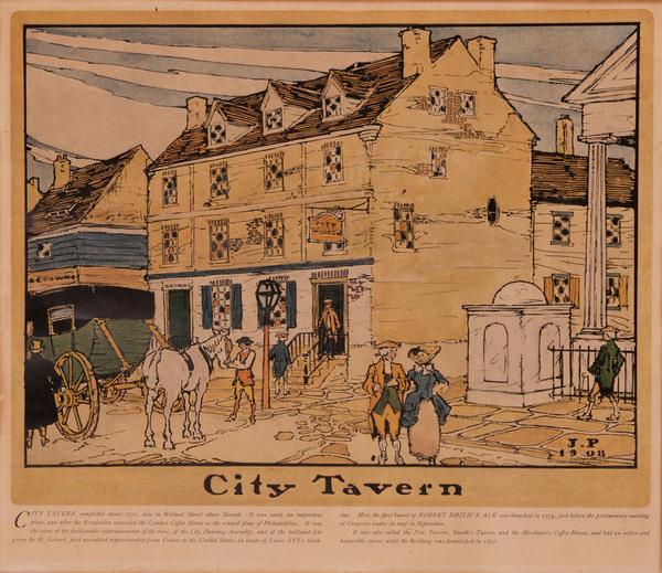Robt. Smith Ale Brewing Co Print - City Tavern