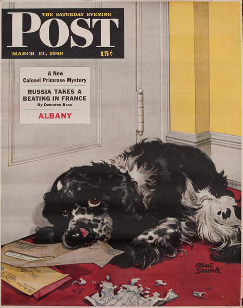 Saturday Evening Post, September 13, 1948 Newstand Advertising Poster