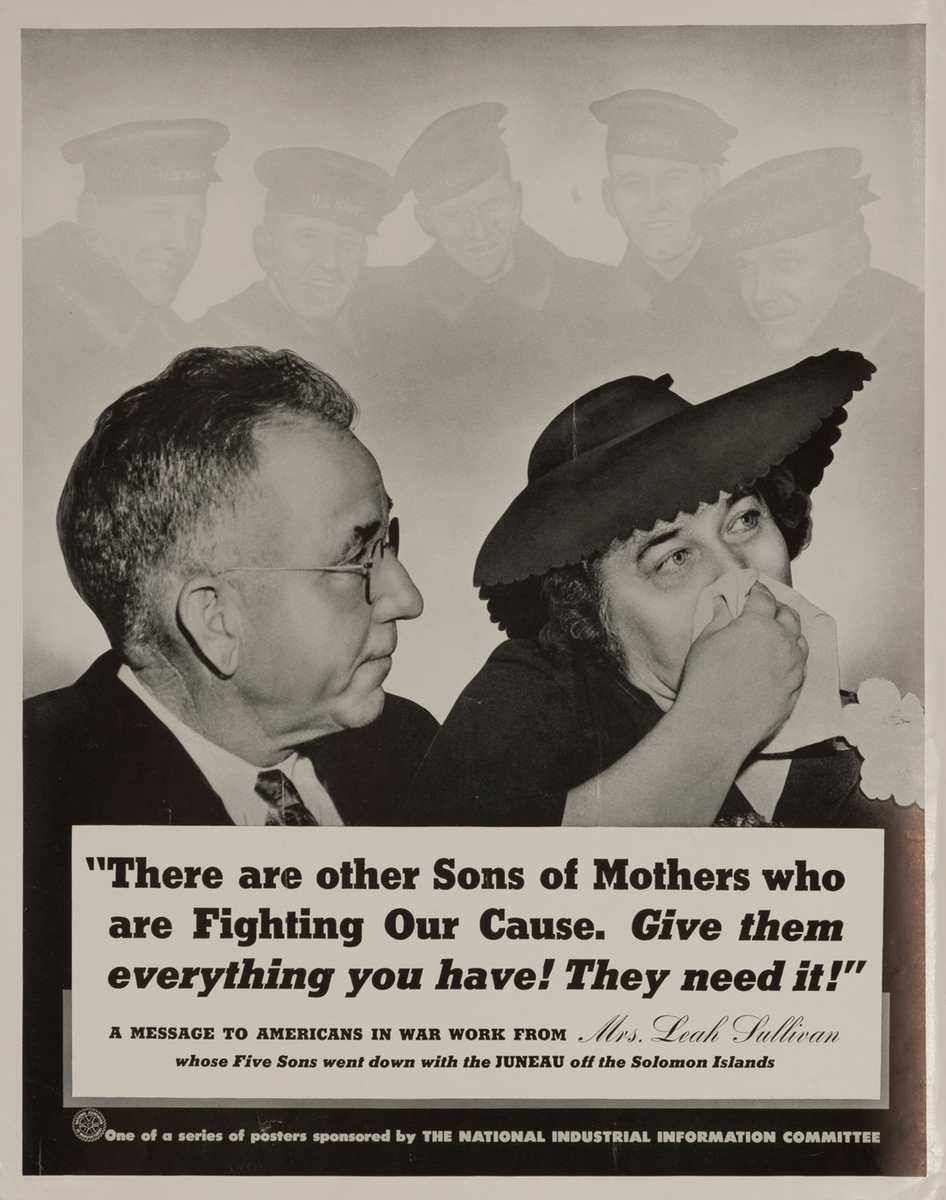 There are other Sons Of Mothers WWII Homefront Poster