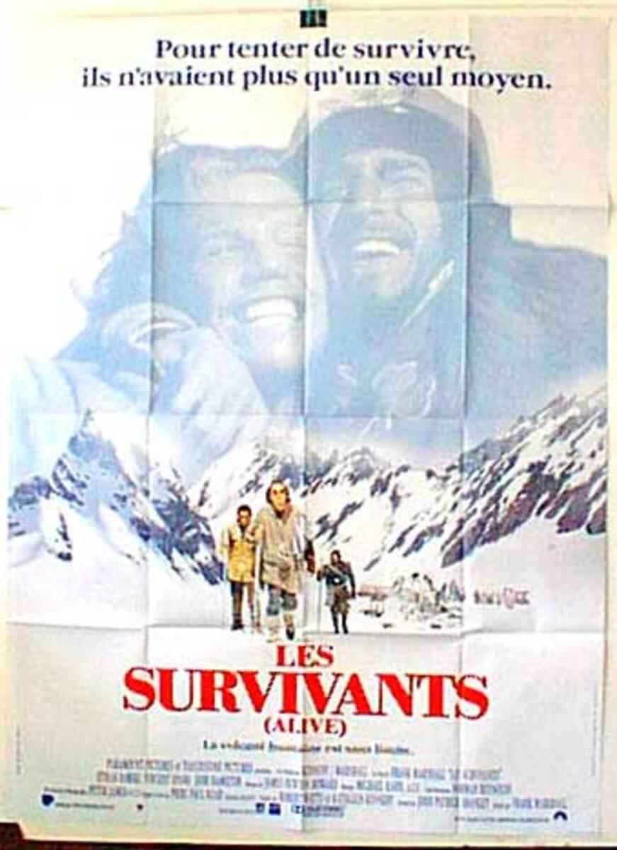 Alive Original Original French Movie Poster