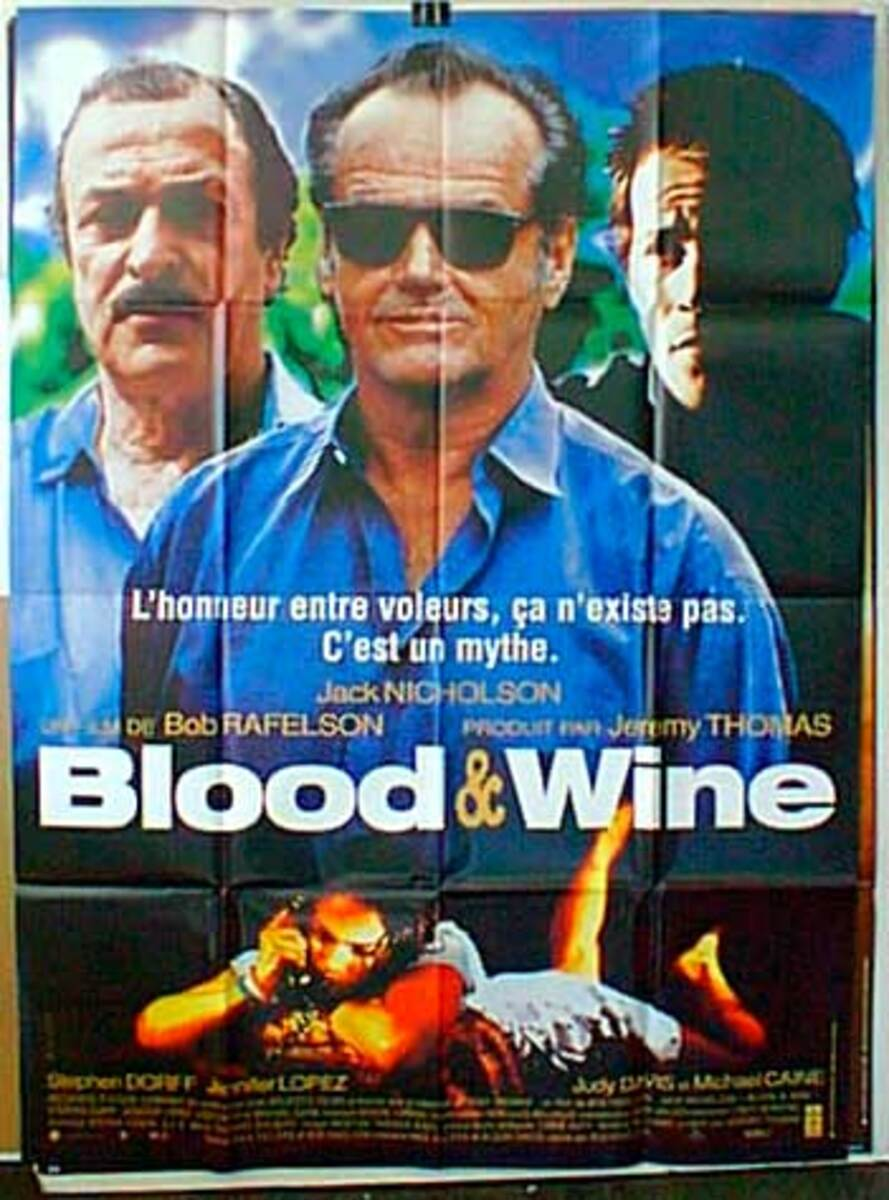 Blood and Wine Original French Movie Poster