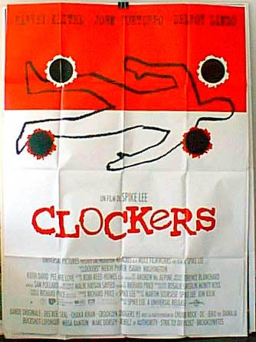 Clockers Original French Movie Poster
