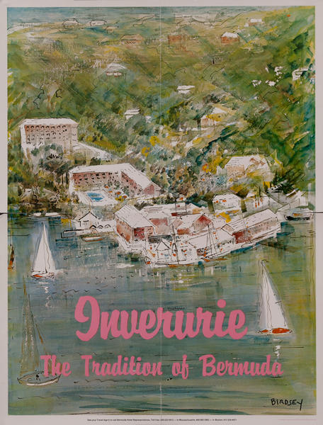 Inverurie The Tradition of Bermuda Travel Poster