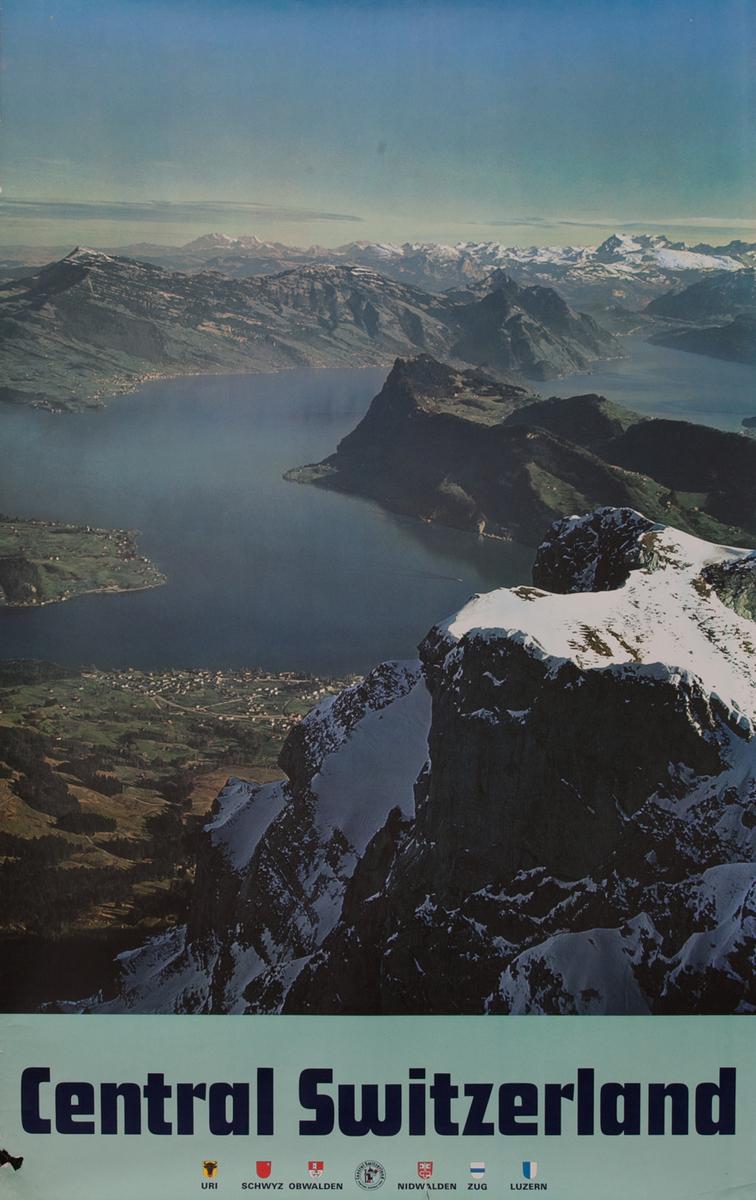 Central Switzerland Travel Poster