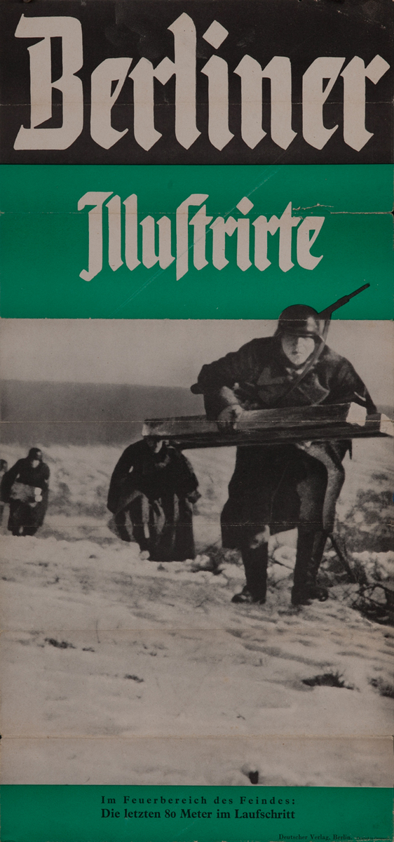 Berliner Illustrirte Zeitung, Nr. 4, 25. Januar 1940 German WWII Poster
