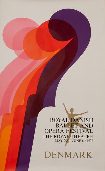 Royal Danish Ballet and Opera Festival 1972 Copenhagen Denmark