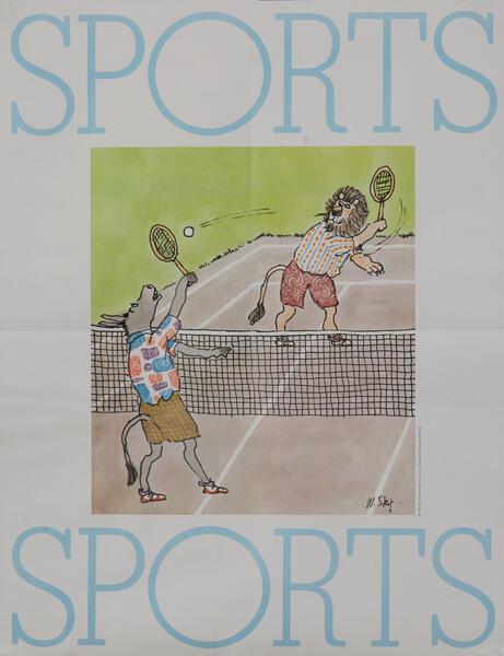 Sports- Children's Book Council Literacy Poster