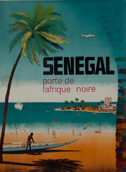 Senegal porte de l'afrique noire - Travel Poster