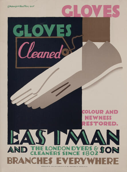 Eastman London Dyers and Cleaners Since 1802 - Gloves Cleaned