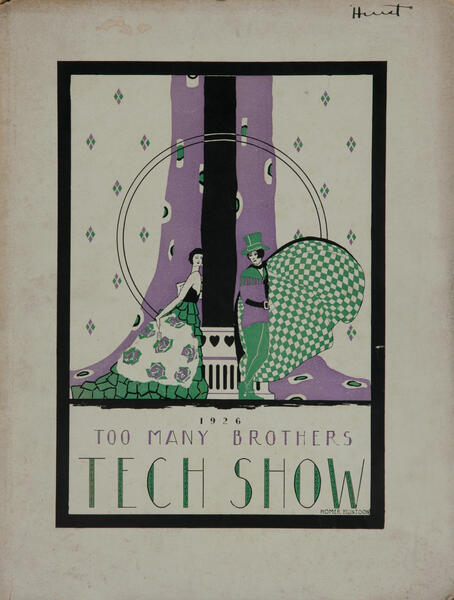 Massachusetts Intitute of Technology MIT Tech Show Playbill 1926 Too Many Brothers