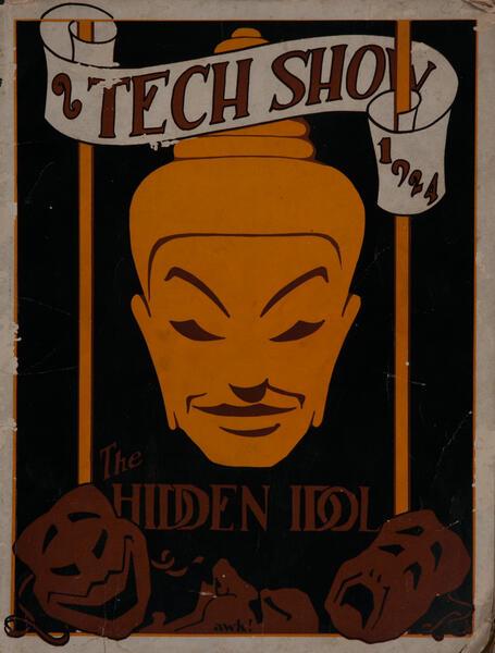 Massachusetts Intitute of Technology MT Tech Show Playbill 1924 The Hidden Idol