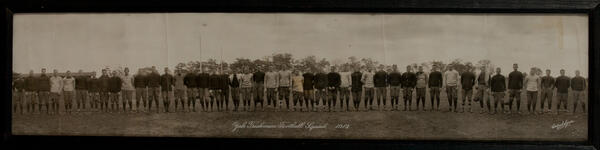1913 Yale Freshman Football Squad Long photo