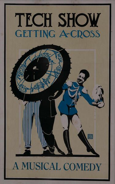 MIT Tech Show Poster - Getting A-Cross A Musical Comedy