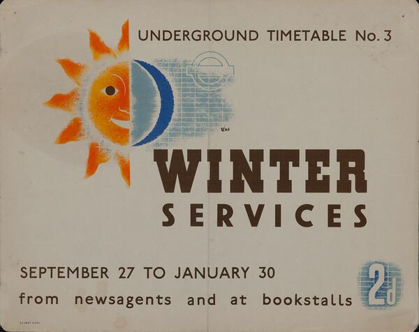 Underground Timetable Winter Services