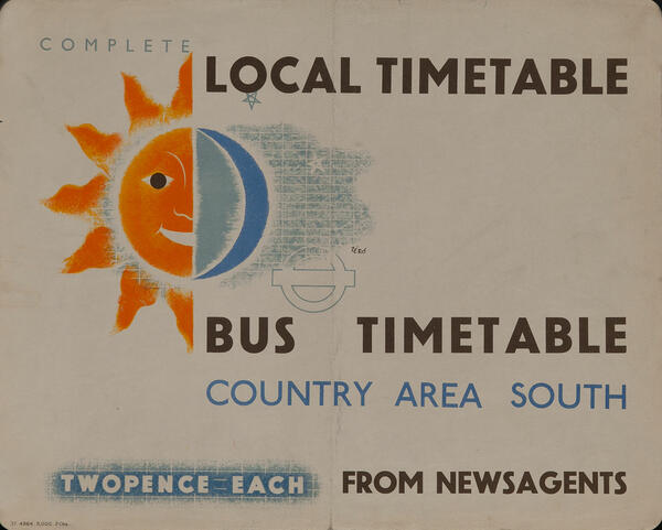 Complete Local Bus Timetable Country Area South