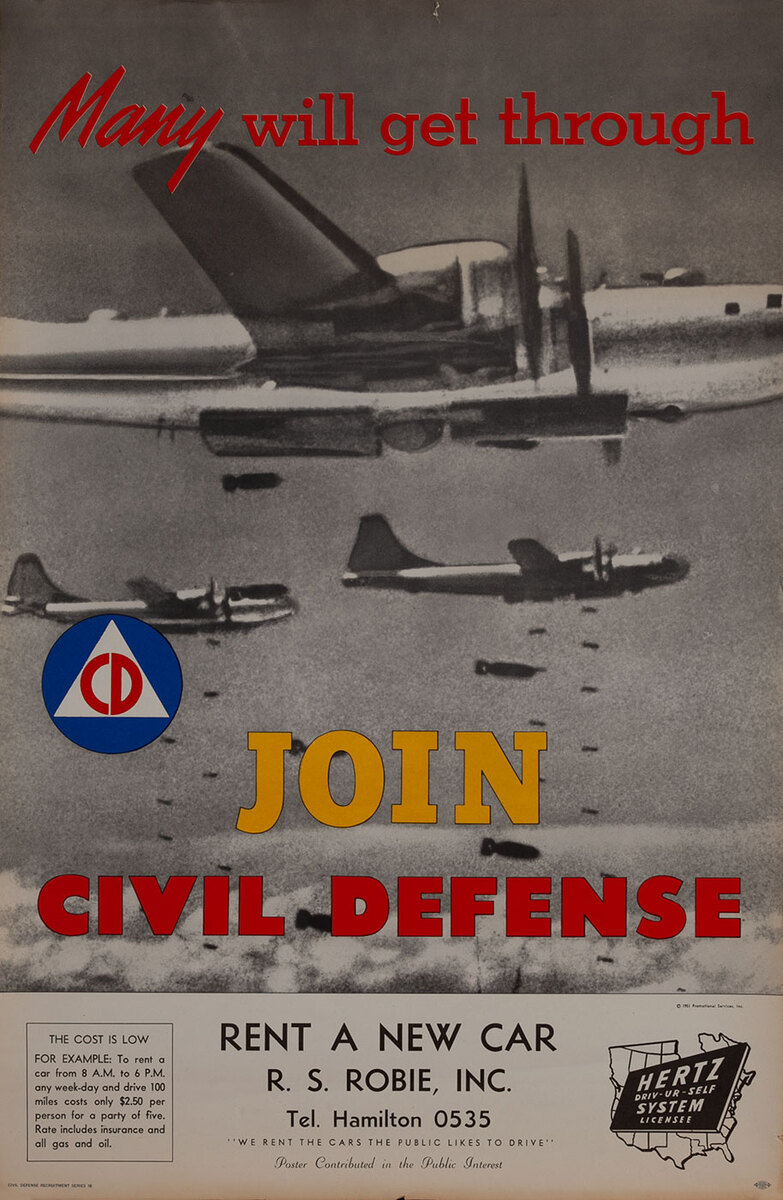Join Civil Defense - Many wIll get through