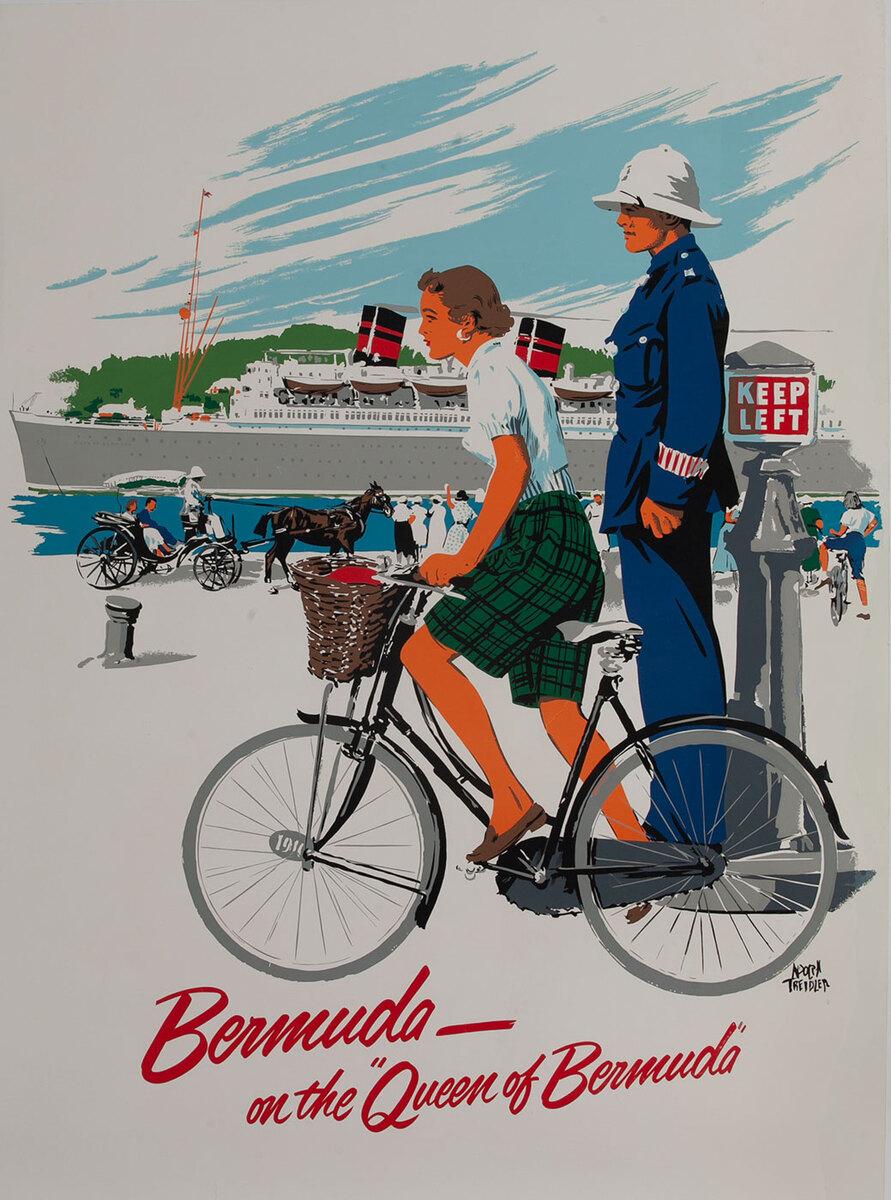 Bermuda on the Queen of Bermuda