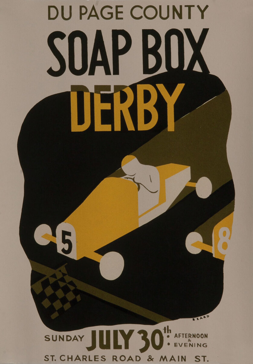 DuPage County Soap Box Derby Poster