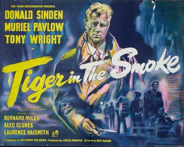 Tiger in the Smoke Original Vintage Movie Poster