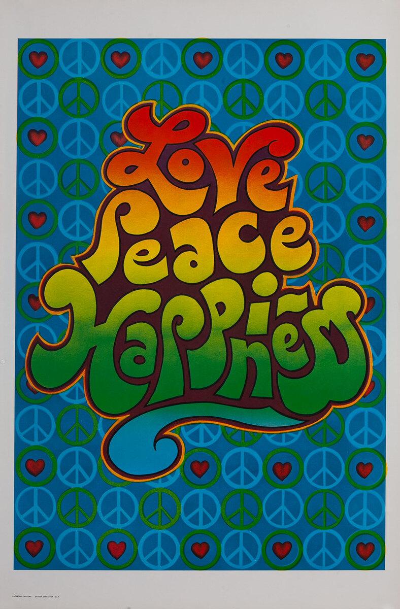 Love Peace Happiness - Vagabond Creations