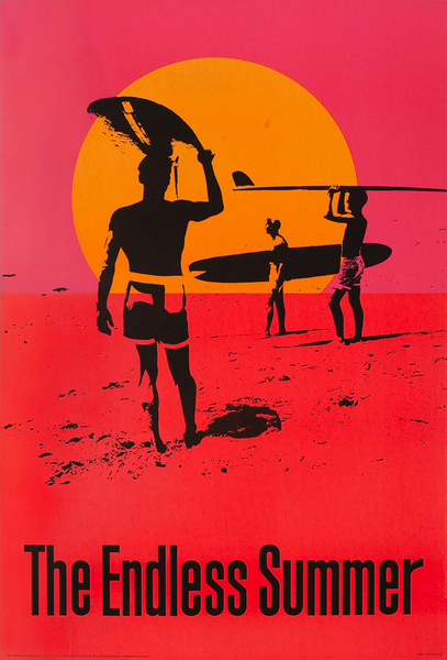 Original Portal Publications The Endless Summer Poster