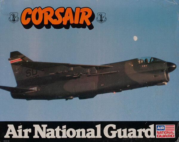 Corsair, Air National Gaurd Poster