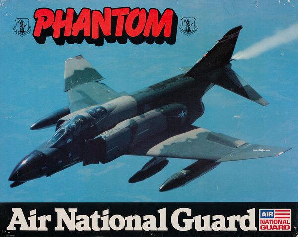 Phantom, Air National Gaurd Poster