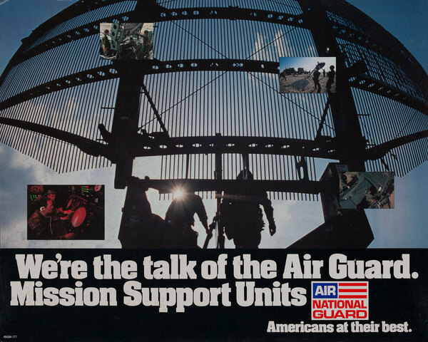 Mission Support Units, Air National Gaurd Poster