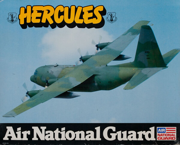 Hercules, Air National Gaurd Poster