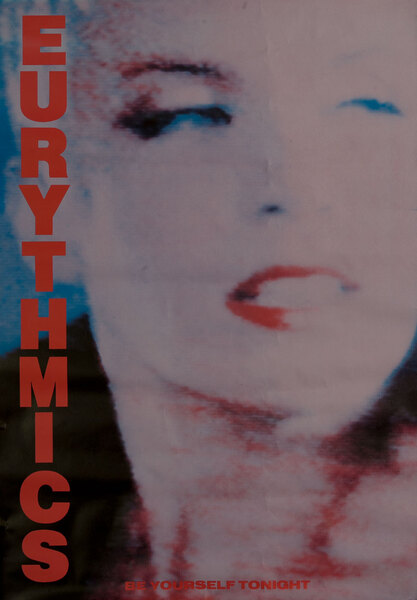 Be Yourself Tonight - Eurythmics Poster Annie Lennox