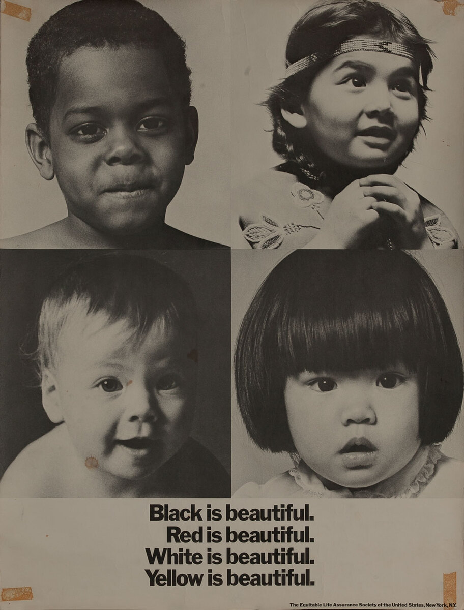 Black is Beautiful, Equitable Life Assurance Poster