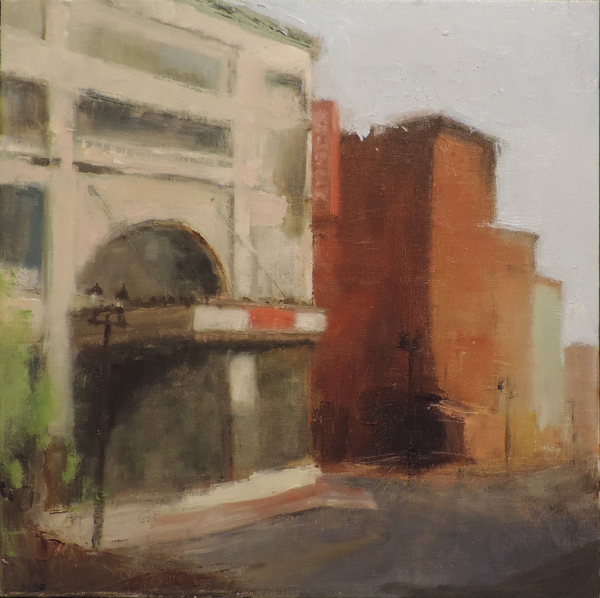 The Queen Theater Oil Painting