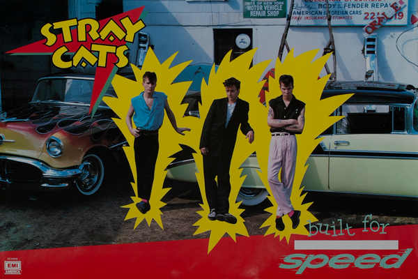 Stray Cats Built for Speed