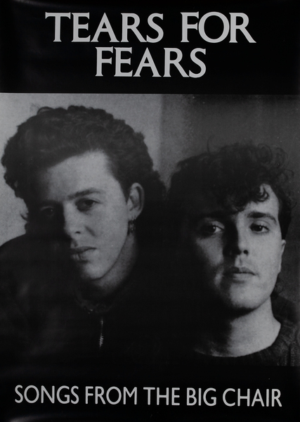 Tears for Fears Songs From the Big Chair Poster