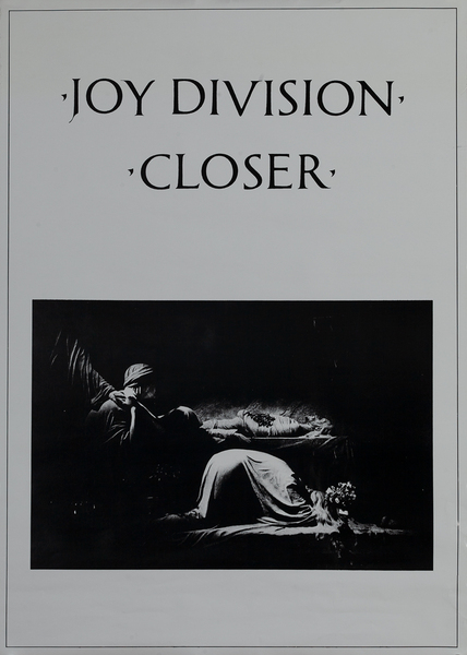 Joy Division Closer Poster